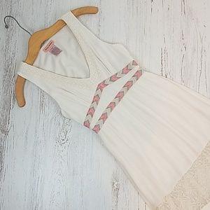 Flying Tomato Boho Lace Maxi Dress